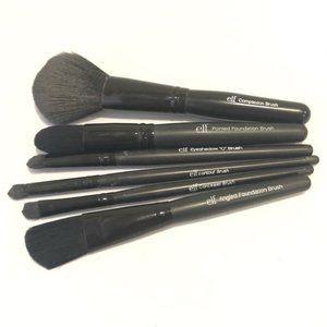 ELF Makeup Brushes Set of Six Pieces